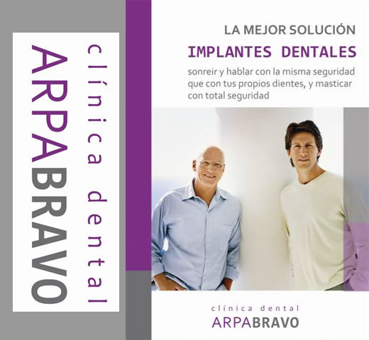 Clinica Dental Arpa - Bravo folleto